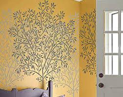 olive tree stencil