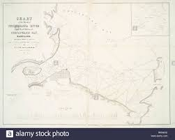 Chart Of The Mouth Of Susquehanna River And Head Waters Of