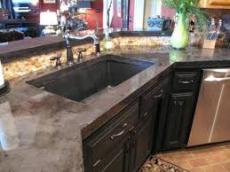color concrete countertops absolutely concrete color how to pour and install in your kitchen d i y tutorial direct how do you color concrete countertops