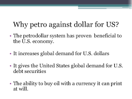 Image result for PETRO DOLLAR