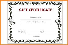 Gift Certificate Printable Free 6 Gift Certificate Template Free Printable Pear Tree Digital