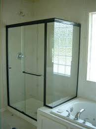 bathroom shower door replacement stylish glass shower doors with black frame light glass shower doors bathroom