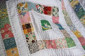 Work-in-Progress Wednesday: Vintage Baby Quilt | Stitch Fancy & I started and finished the quilting yesterday evening, and I just have to  finish hand-sewing the binding to the back. I'm really happy with how it  has ... Adamdwight.com
