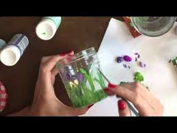 Decorating Jam Jars For Candles DIY Painted Candle Using Upcycled Jam Jar YouTube 51