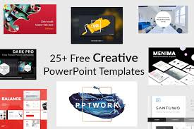 25 Creative Free Powerpoint Templates