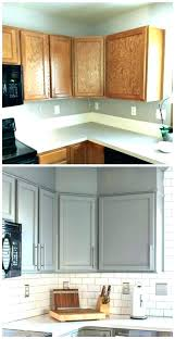 comfortable kitchen cabinets painting cost spray painting kitchen cabinets paint cabinet best before after ideas painted