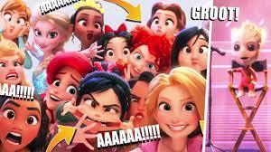 Disney Prenseslerinin Ev Hali 😮 Ralph ve İnternet Tüm Göndermeler! -  YouTube
