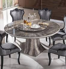 dining room excellent round marble dining table for 6 cool dining chairs above white ceramic floor that 2 bottles beer on the tabletop the cly and