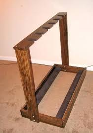 diy guitar rack wooden multi guitar stand oak diy guitar rack plans