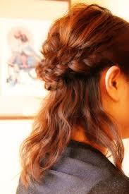 ハーフアップ 編み込み 結婚式 髪型 さくら市 美容室エスポワール 美容