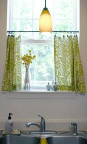Decorating Kitchen Windows Captivating Kitchen Window Ideas With Licious Green Lime Small