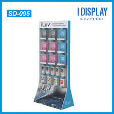 Mobile Phone Accessories Display Stand Beauteous Cell Phone Case Display RackCardboard Hanging Display RacksCell