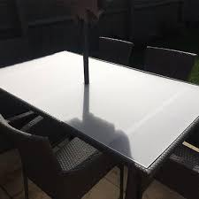 acrylic perspex table top cut to size