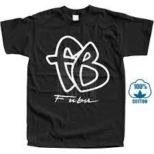 Fubu Design T Shirt Vintage T Shirt Fubu Fb Big Logo 90s Reprint Size S 2xl
