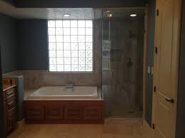 Tub Shower Combos Bathroom White Fiberglass Bathtub And Shower With Glass Door