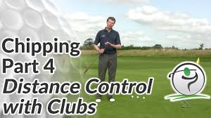 Chipping Distance Control Club Selection Tips To Chip It Close