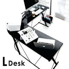 glass top desk office depot. plain glass glass top desk office depot medium size of l shaped target  intended glass top desk office depot o