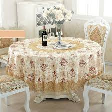 top elegant embroidery lace round tablecloth for wedding table cloth cover tv covers tea tablecloths sofa towel refrigerator