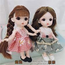 2 Sản Phẩm Búp Bê Barbie Đồ Chơi Trẻ Em Cho Bé Gái Bộ Búp Bê