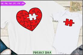 Browse svg vectors about puzzle term. Piece Of My Heart Red Puzzle 656439 Cut Files Design Bundles