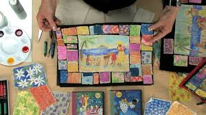 Painted Story Quilt - Lesson Plan - YouTube &  Adamdwight.com