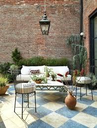hang outdoor wall decor nails brick