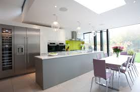 Kitchen Extensions Bulkhead Provides Opportunity For Windows Light Ground Floor