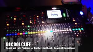 dj cool cliff sound and light engineer for another level band rva mac and pc you