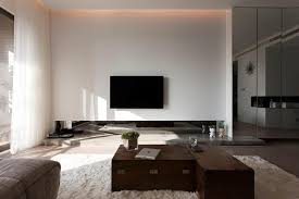 Living Room : Innovative Modern Apartment Living Room With Wooden ...