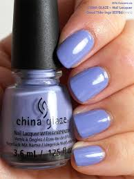 china glaze nail lacquer in good tide ings swatch