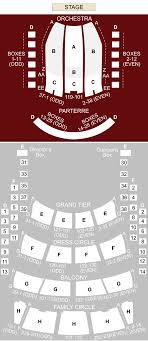 Metropolitan Opera House New York Ny Seating Chart
