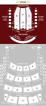 metropolitan opera house seating chart