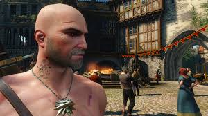 Bald Geralt At The Witcher 3 Nexus Mods And Community
