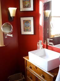 Dark Red Bathroom Similiar Red Bathroom Keywords