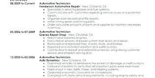 Auto Body Technician Resume Awesome Auto Mechanic Resume Sample Sample Resume Automotive Technician Auto
