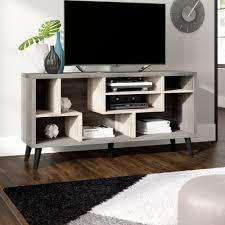 Ebern Designs Nyle Glass 60 Tv Stand Emely Tv Stand For Tvs Up To 65 Inches