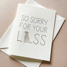 sympathy card pet letterpress pet sympathy card dog sympathy