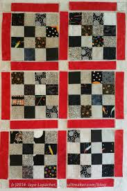 Chunking It – A Method of Putting Quilts Together – Artquiltmaker Blog & Blocks Laid Out Waiting to be Put Together Adamdwight.com