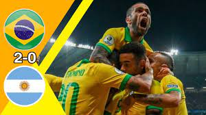 كلاسيكو العالم نار نار 🔥🔥 البرازيل ~ الأرجنتين 2-0 كوبا أمريكا 2019 وجنون  عصام الشوالي جودة عالية - YouTube