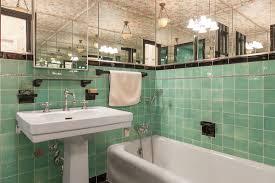 art deco bathroom. Pacific Heights Art Deco Bathroom