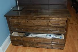 ana white  map drawer for erin  diy projects