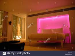 Mood Lighting Living Room Bedroom With Colour Mood Lighting In St Martins Hotel St Martins