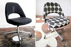 image of modern reupholster office chair