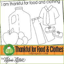 Small Picture Pages Of Clothes And Food ColoringOfPrintable Coloring Pages