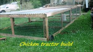 Mobile Chicken Coop Designs How To Build A Portable Chicken Tractor Coop Part 1