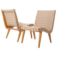 czech lounge chairs by jens risom for knoll s set of two at