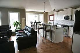 living room and kitchen color ideas open paint pertaining to for