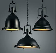 black drum shade pendant large black pendant light