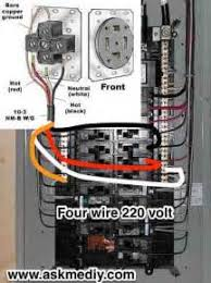 nema l14 30 3 pole 4 wire diagram images how to install a 220 volt 4 wire outlet askmediy