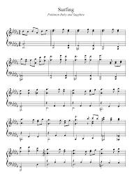 pokemon sheet music piano